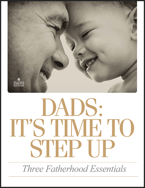 Dads: It Is Time To Step Up (PDF) Product Photo