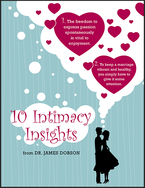 10 Intimacy Insights from Dr. Dobson (PDF) Product Photo